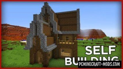 Self Building House Command Block For Minecraft 1.11.2