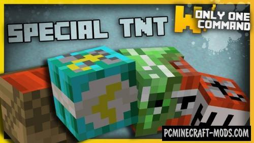 Special TNT Command Block For Minecraft 1.11.2
