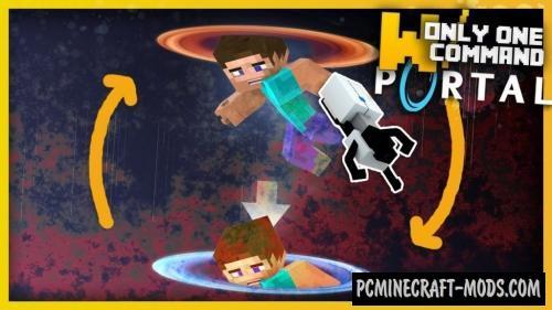 Ultimate Portal Gun Command Block For Minecraft 1.11.2