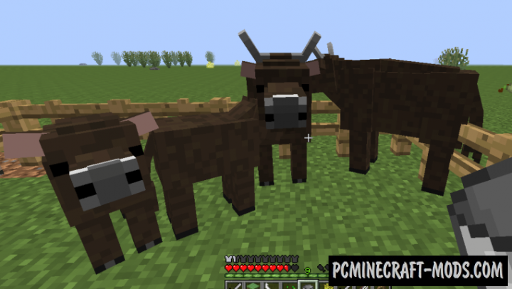 Realistic Livestock Mod For Minecraft 1.7.10