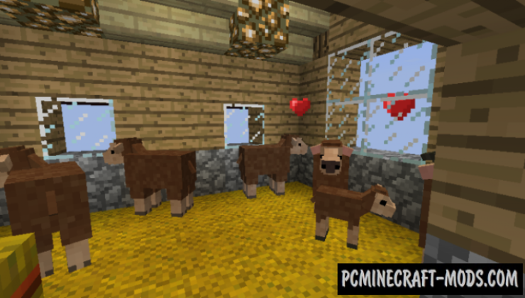 Realistic Livestock - Creatures Mod For Minecraft 1.7.10