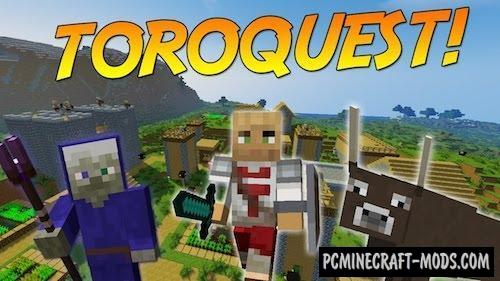 ToroQuest Mod For Minecraft 1.12.1, 1.11.2, 1.10.2