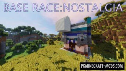 Base Race: Nostalgia Map For Minecraft