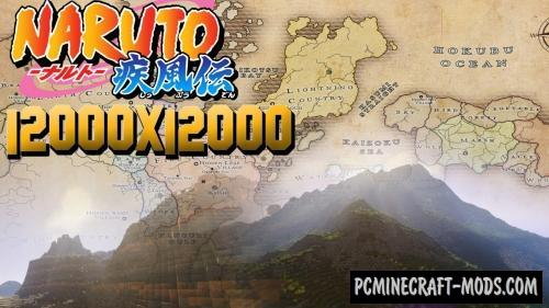 The world of naruto map for minecraft 113 1122 pc java mods the world of naruto map for minecraft gumiabroncs