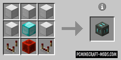 Wireless Charger - Tech Mod For Minecraft 1.12.2