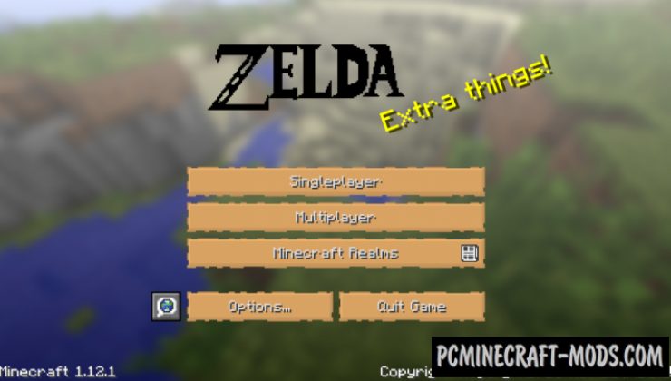 The Legend of Zelda 32x Texture Pack Minecraft 1.16.5, 1.16.4
