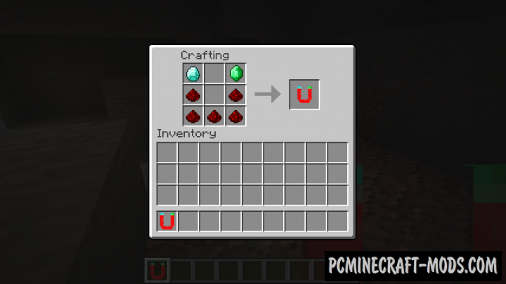 Simple Magnets - Tool Item Mod Minecraft 1.16.4, 1.15.2, 1.12.2