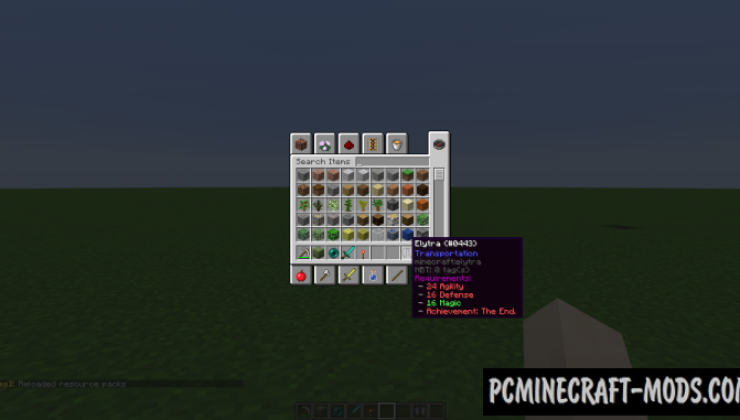 Skillable - Survival Tweak Mod For Minecraft 1.12.2