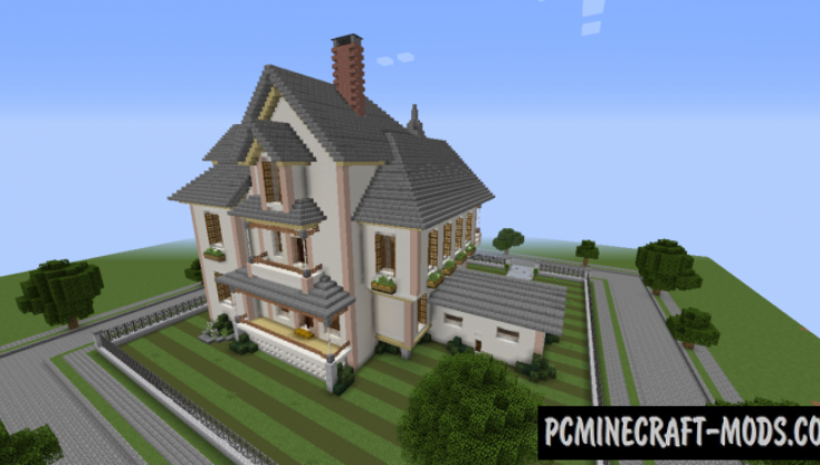 Victorian House Map For Minecraft