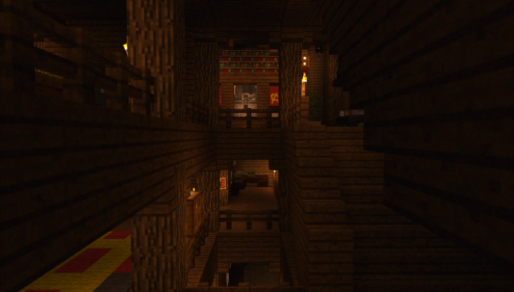Russian KGB Mansion Map For Minecraft