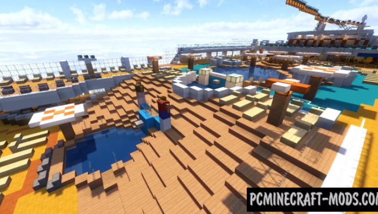 MS AIDAbella - 3D Art, Adventure Map For Minecraft