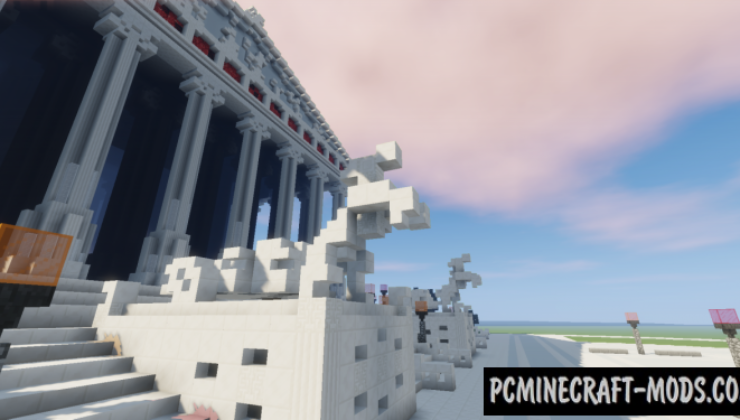 Temple of Artemis - 3D Art Map For Minecraft