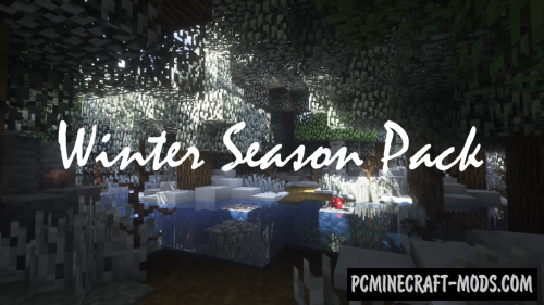 Winter Season Pack Resource Pack For Minecraft 1.12.2, 1.12.1, 1.12