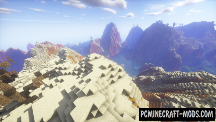 Desert Terraforming - Custom Terrain, PvP Arena Map