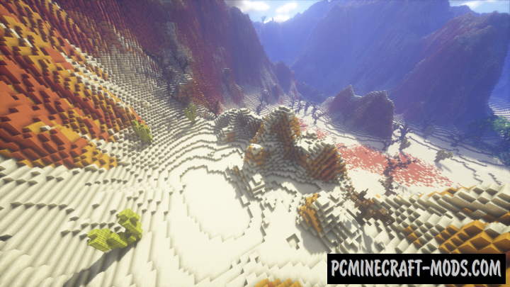 Desert terraforming map for minecraft pc for Terraform gui