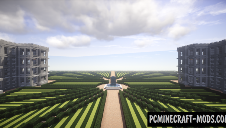 University - City Building Map For Minecraft