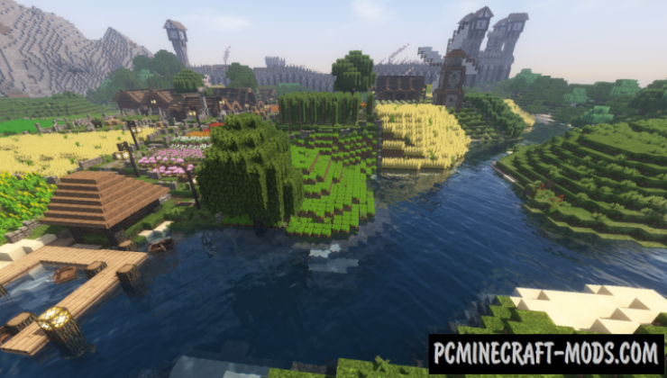 The City of Narne Map For Minecraft