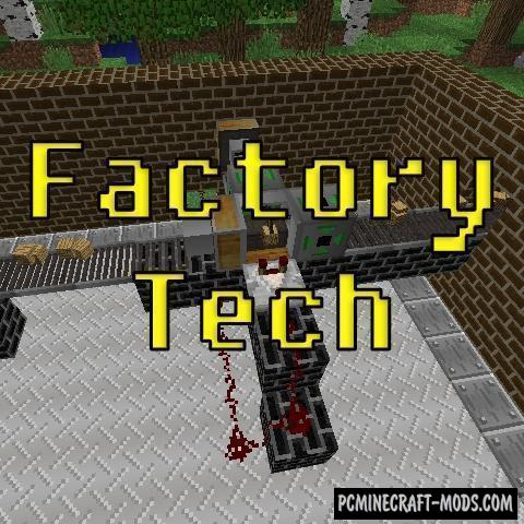 Factory Tech - Mech Mod For Minecraft 1.12.2