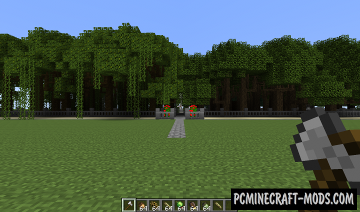 Dynamic Trees Mod For Minecraft 1.12.2, 1.11.2, 1.10.2, 1.7.10