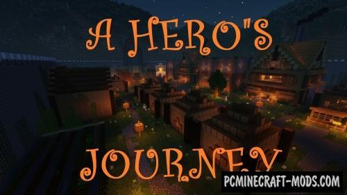 A Hero's Journey Map For Minecraft
