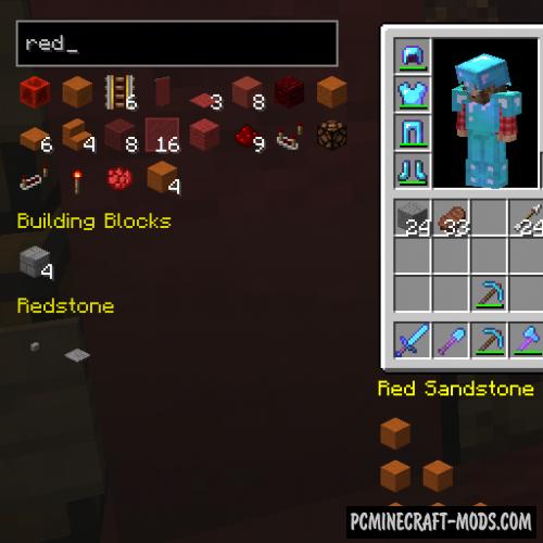 EasierCrafting - Tweak Mod For Minecraft 1.17, 1.16.4