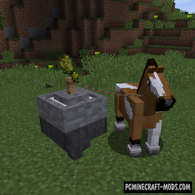 Horse Power Mod For Minecraft 1.12.2, 1.11.2