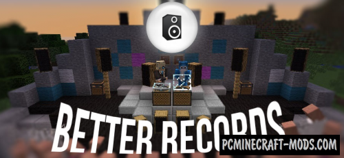 Better Records - New Blocks Mod For Minecraft 1.12.2