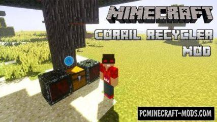 Corail Recycler - New Block Mod For Minecraft 1.16.5, 1.12.2