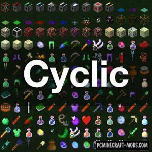 Cyclic - New Blocks and Items Mod For Minecraft 1.16.5, 1.12.2