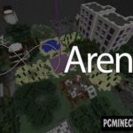 Sky Battle Magic Map For Minecraft
