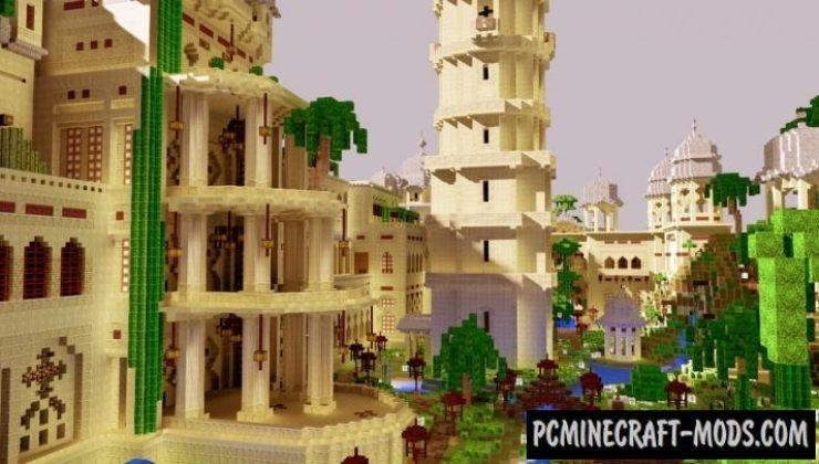 Laxmi Vilas Palace - Castle Map For Minecraft