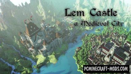 LEM Castle Map For Minecraft
