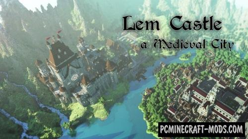 LEM Castle Map For Minecraft