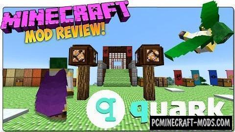 Quark - Vanilla Tweak Mod For Minecraft 1.16.1, 1.15.2, 1.14.4