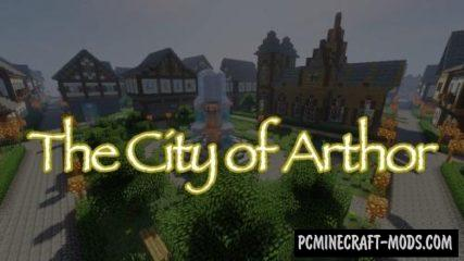 The City of Arthor Map For Minecraft