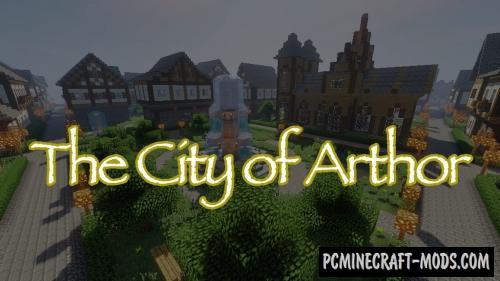 The City of Arthor - Castle Map For Minecraft