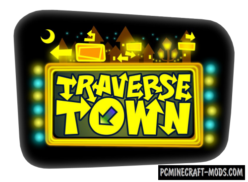 Traverse Town - Adventure, City Map For Minecraft