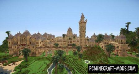 Laxmi Vilas Palace Map For Minecraft