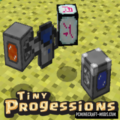 Tiny Progressions - Surv Kit Mod For Minecraft 1.15.2, 1.12.2