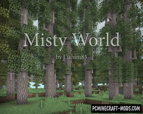 Misty World - Realistic Dimension Mod For Minecraft 1.12.2
