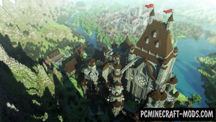LEM Castle - City Map For Minecraft