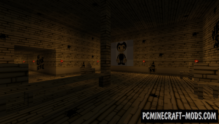 Ink - Horror Map For Minecraft
