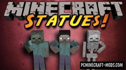 Statues - Furniture Mod For Minecraft 1.16.5, 1.16.4, 1.12.2