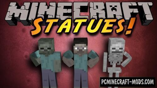 Statues - Furniture Mod For Minecraft 1.16.4, 1.15.2, 1.12.2