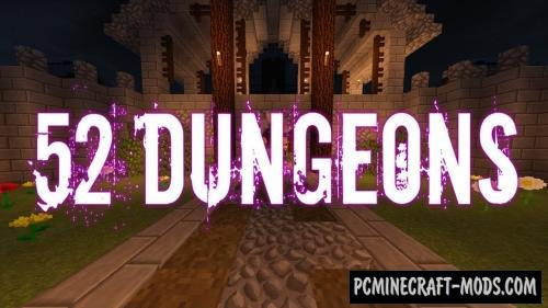 52 Dungeons Map For Minecraft