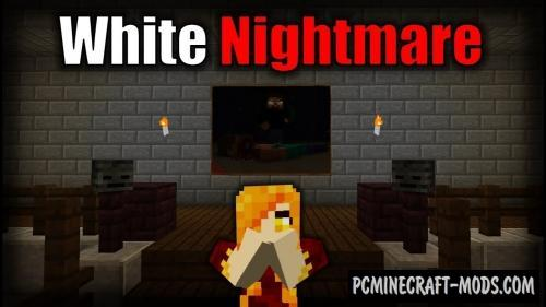 White Nightmare 2 - Into The Void Map For Minecraft
