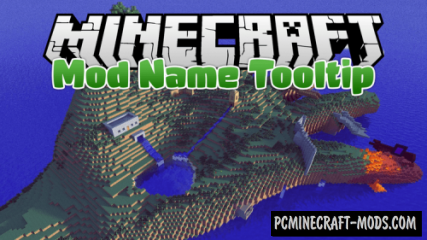 Mod Name Tooltip Mod For Minecraft 1.14.2, 1.13.2, 1.12.2, 1.10.2