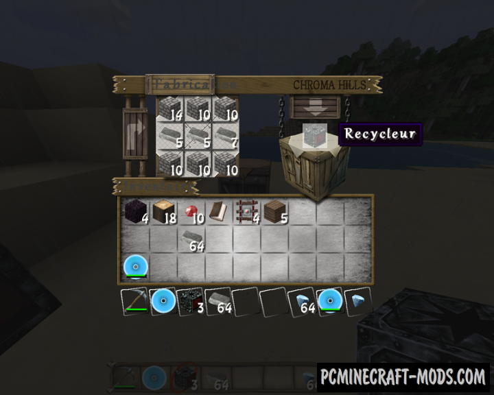 Corail Recycler Mod For Minecraft 1.13, 1.12.2, 1.11.2, 1.10.2