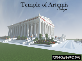 Temple of Artemis Map For Minecraft