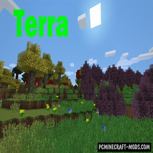 Terra Mod For Minecraft 1.12.2, 1.11.2